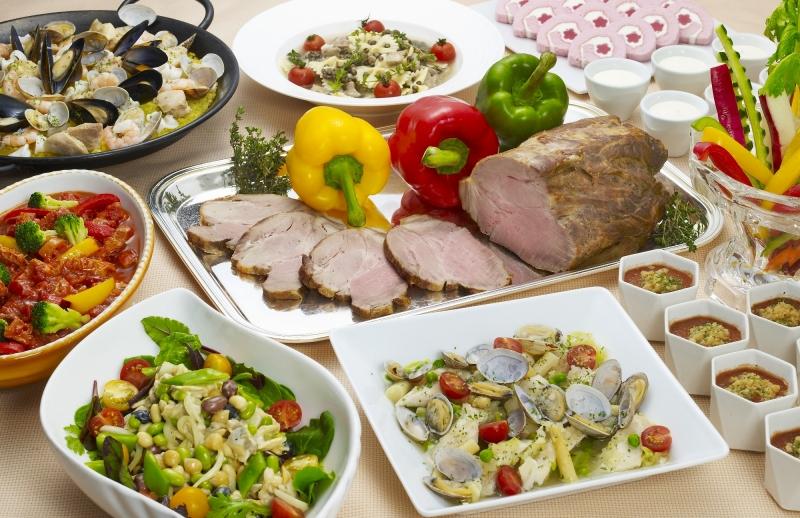 美食の国イタリア・スペインの彩り豊かなお料理を堪能「イタリア&スペインフェア」