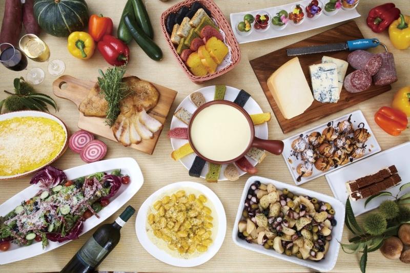 美食の国イタリアの彩り豊かな料理を満喫!「秋の味覚とイタリアンフェア〈第一弾〉」
