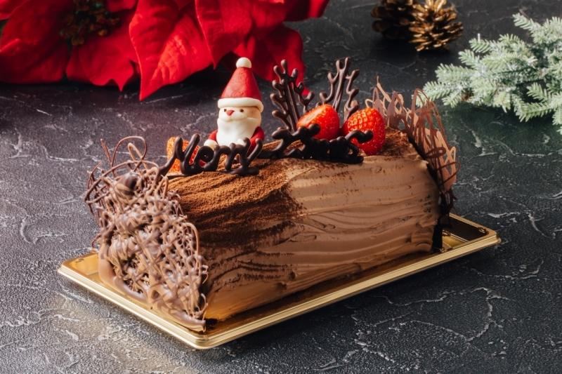 ~大人も楽しめるスイーツ作り教室~パティシエと作るクリスマスケーキ「ブッシュ・ド・ノエル」