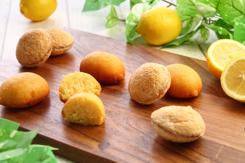 かながわ育ちのかながわ産品「湘南潮彩レモン」を使用したホテルメイドの焼き菓子