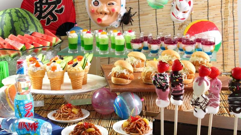 【8/8~8/16限定】ナトゥーラ夏祭り☆ファミリー縁日ブッフェ<予約制>