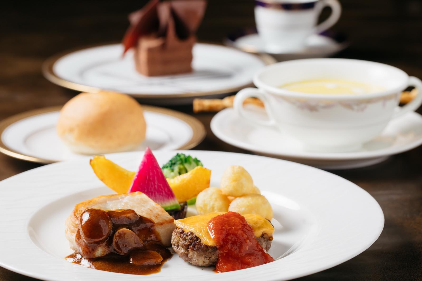 ■カジュアル 洋食3,000円(サービス料・消費税込み3,630円)