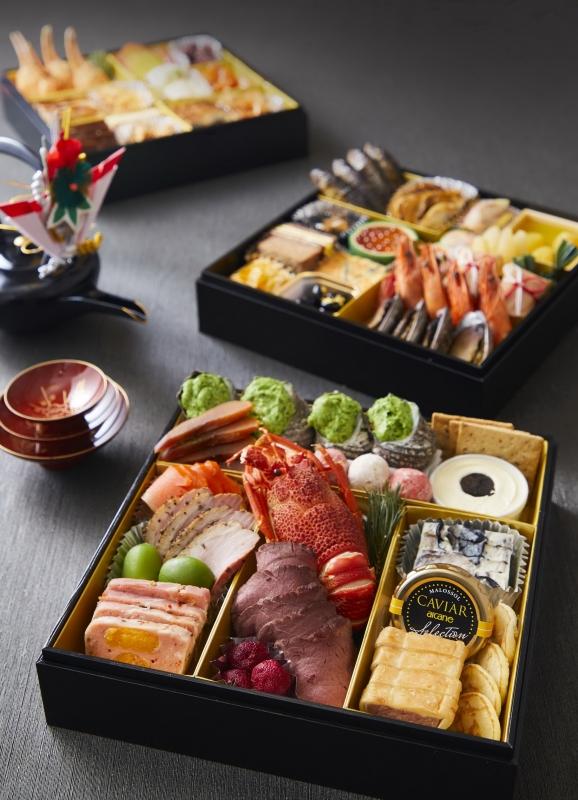 和食 洋食 中華の「おせち三段重」・「おせち一段重」
