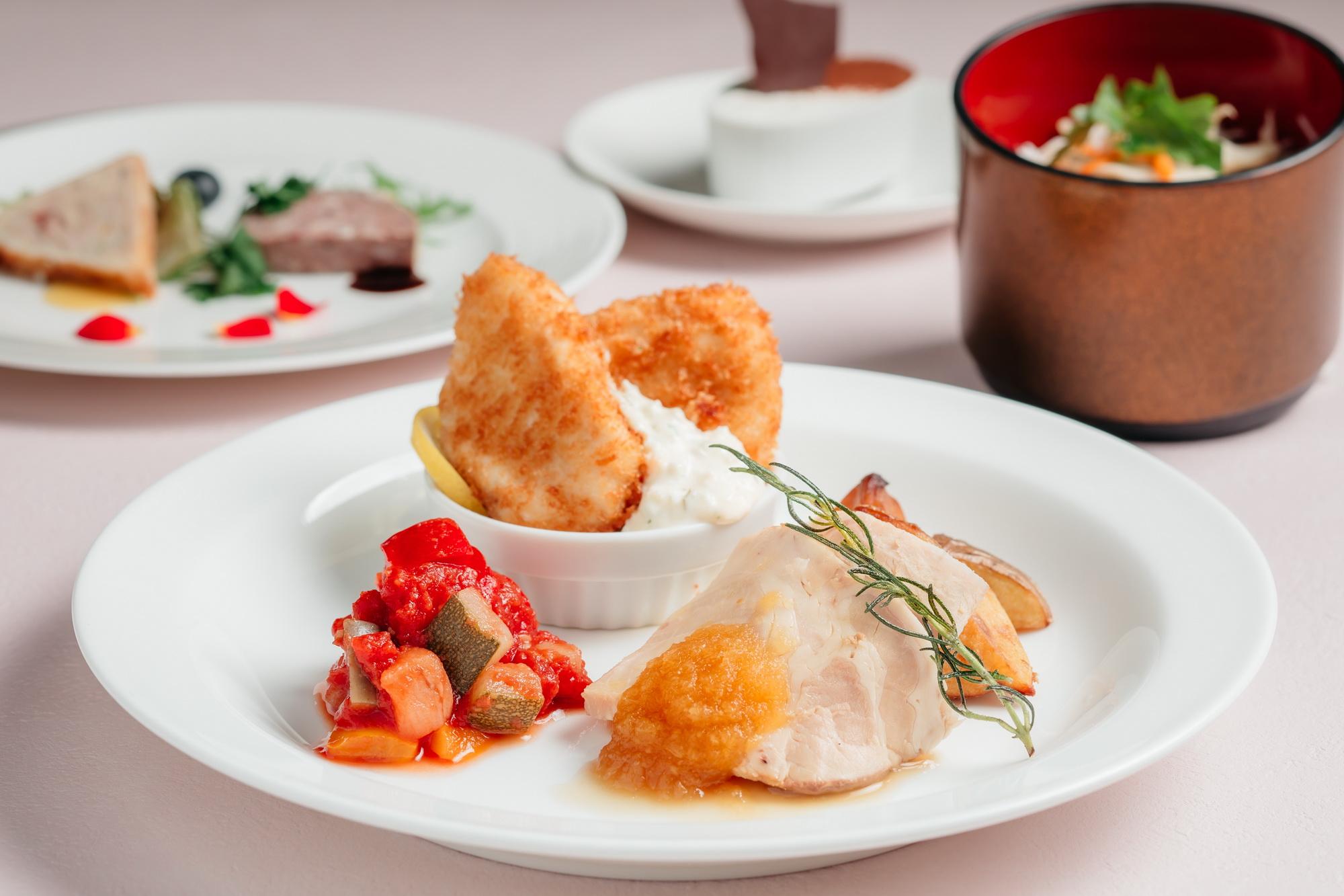 ■お料理プラン「シリウス(正餐スタイル)」