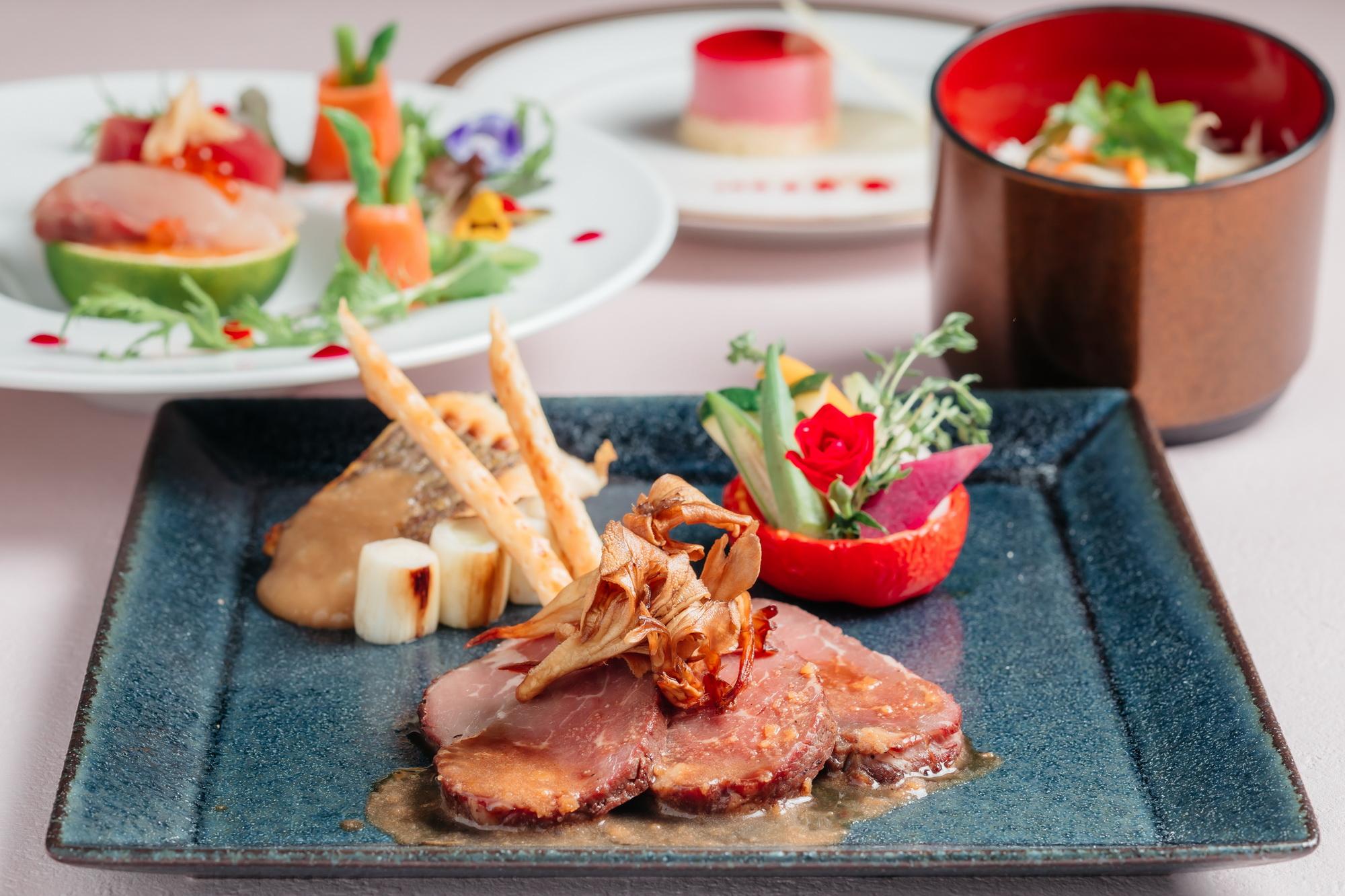 ■お料理プラン「オリオン(正餐スタイル)」