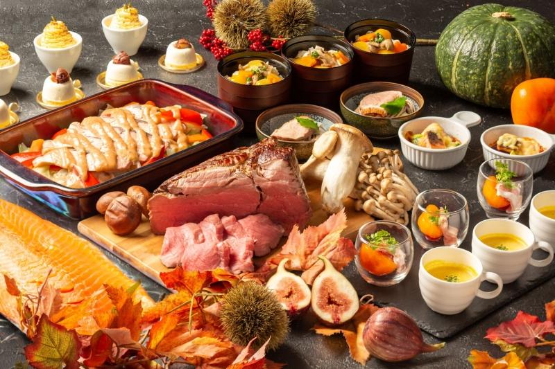 """〈ディナーブッフェ〉実りの秋に贈る""""秋の味覚""""がバラエティ豊かに並ぶ「秋の味覚とシェフの饗宴」"""