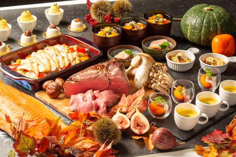 """〈ランチブッフェ〉""""食欲の秋""""にふさわしいメニューの数々をご堪能「秋の味覚とシェフの饗宴」"""